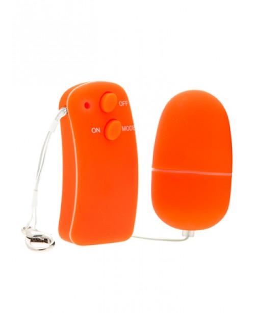 Huevo Vibrador<BR> Zahara Naranja
