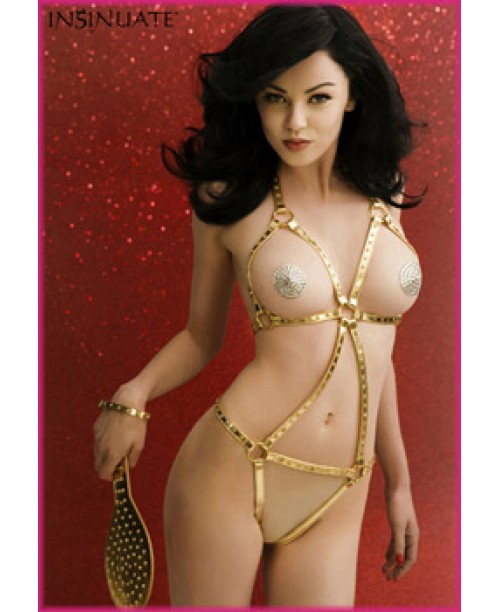 Natasha Body Dorado L/XL