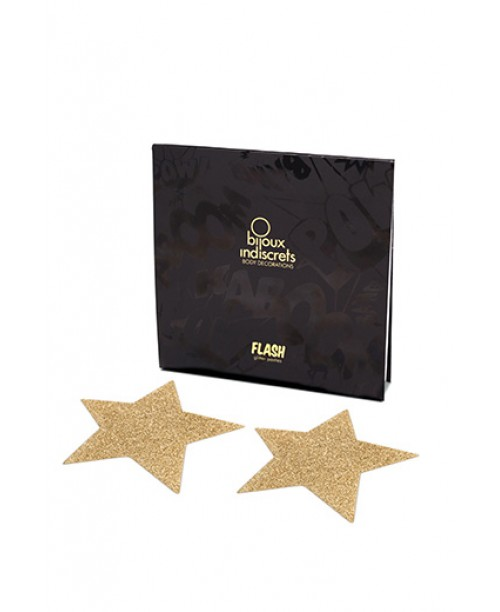 Bijoux Flash  Star Gold