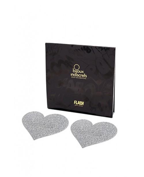Bijoux Flash Heart Silver