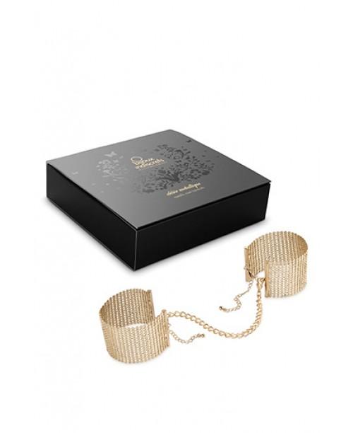 Bijoux Desir Metallique Handcuffs Gold