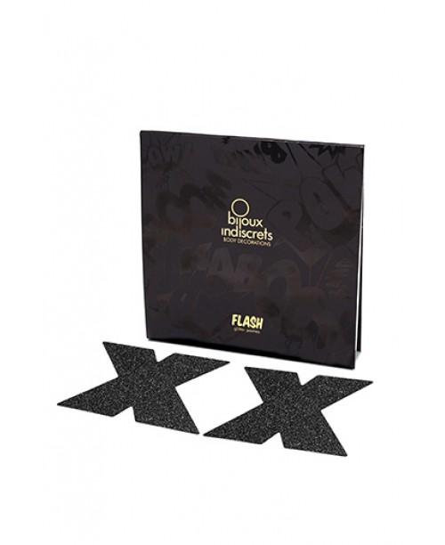 Bijoux Flash Cross Black