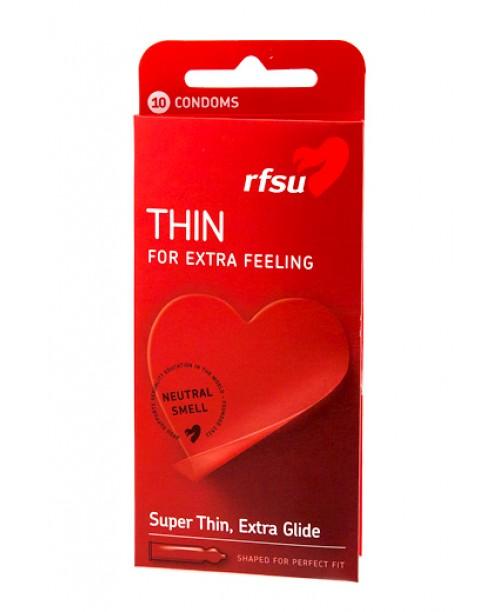 Rfsu Thin 10 uds (Estuche 10 preservativos)