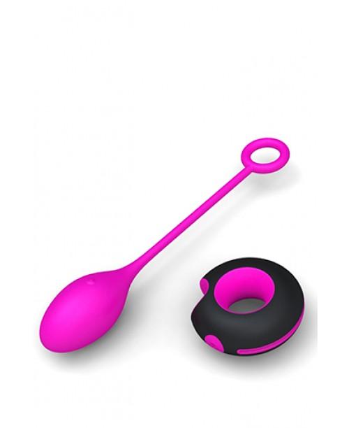 Huevo Vibrador Tritons Rosa/Negro