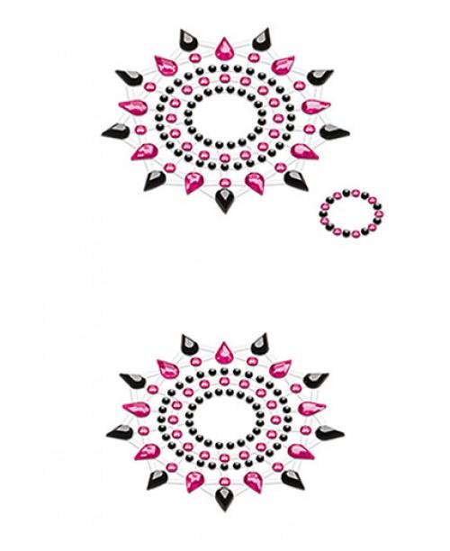 Gloria black pink 2 set decoraci n corporal cosm tica - Decoracion erotica ...