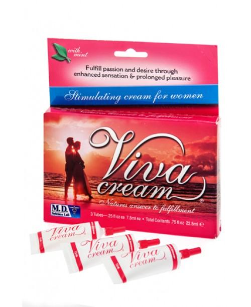 Swiss Navy Viva Cream 3 x 10 ml.