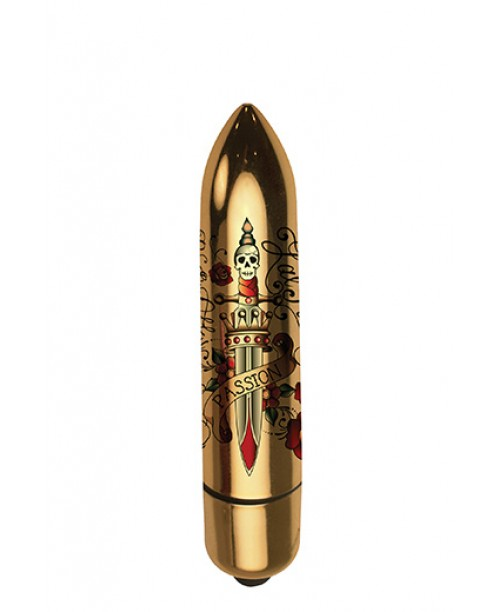 RO-80 Gold Metallic Tatoo 7 Speed - Deadly Passion