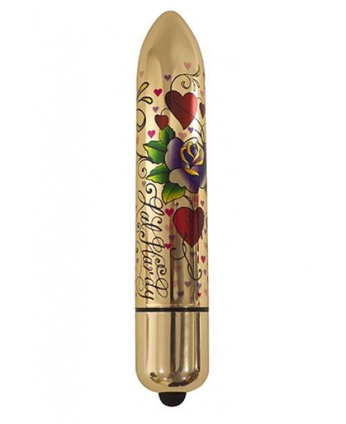 RO-160 Gold Metallic Tatoo 10 Speed - Hearts And Roses