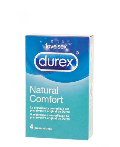 Durex Natural Confort 4 Uds