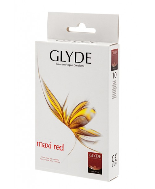 Glyde  Maxi Red 10 uds