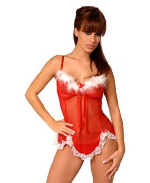 Camison Navidad Con Tanga XL