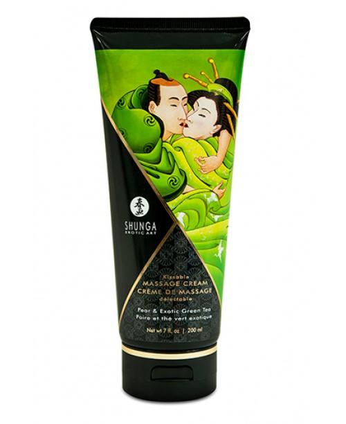 Shunga Massage Cream - Pear & Exotic Green Tea