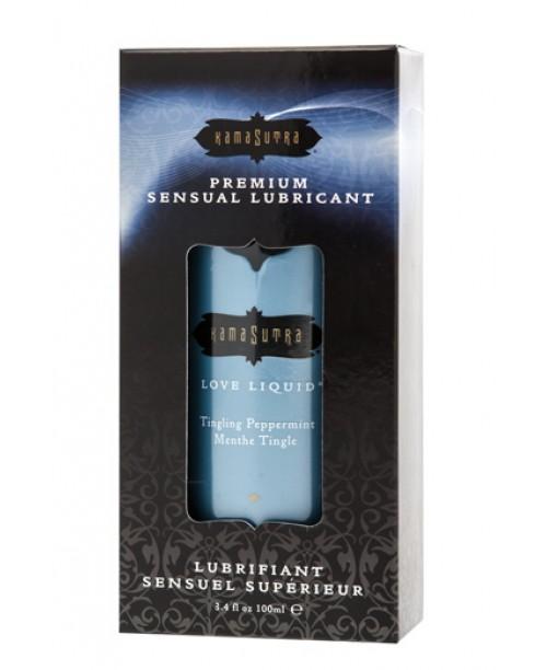 Love Liquid Premium Sensual Lubricant Tingling Peppermint 100 ml