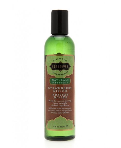 Naturals Massage Oil Strawberry Divine 200 ml.