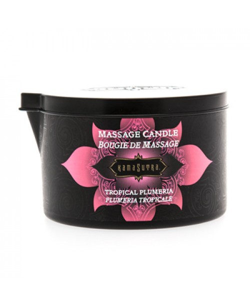 Massage Candle Tropical Plumeria