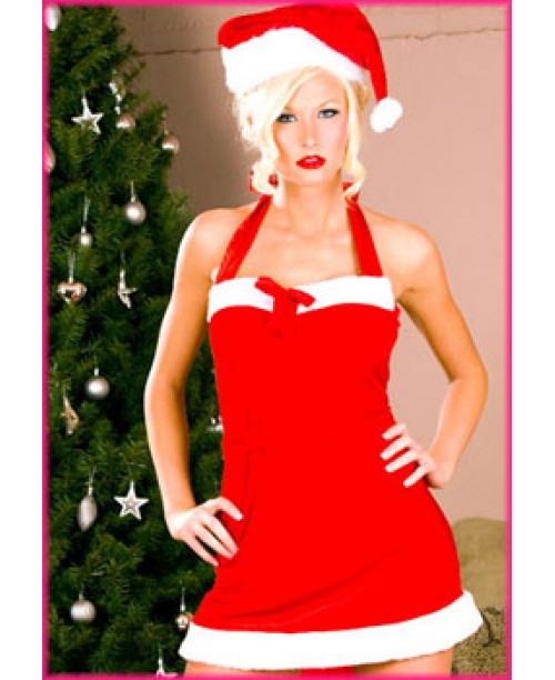 Disfraz Santa Claus Minivestido